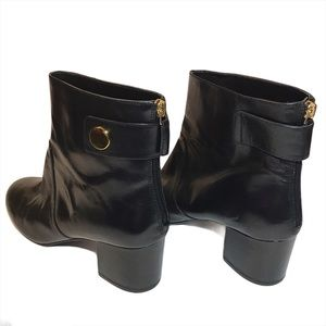 Nine West ankle booties, black, Size 11